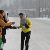 2016冰雪马拉松33km左右