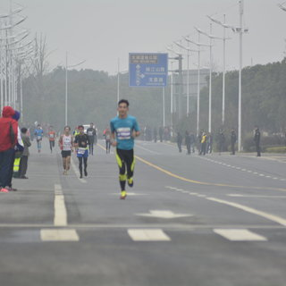 2015 苏州太湖国际马拉松