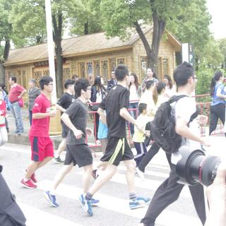 2015武汉后官湖半程马拉松