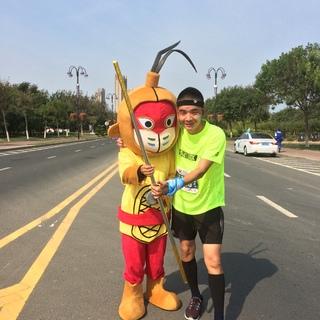 2016烟台蓬莱葡萄酒半程马拉松