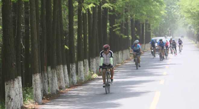 第七届环高邮湖自行车越野赛