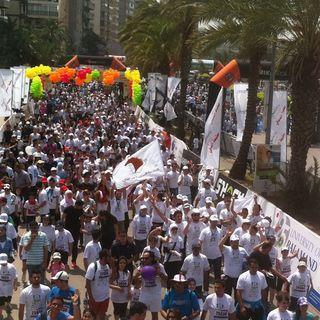 2014的黎波里半程马拉松(Tripoli Half Marathon)