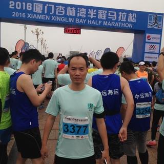 2016厦门杏林湾半程马拉松