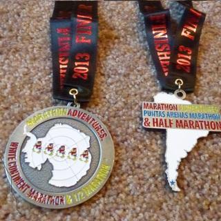 2014 白色大陆马拉松
