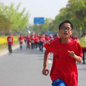 2017年《奔跑中国》第一季第一站崇明国际马拉松比赛