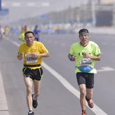 """""""中国万达""""2017黄河口(东营)国际马拉松赛全程"""