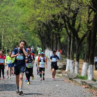 2017宁波山地马拉松——谭乐