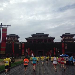 2015横店半程马拉松