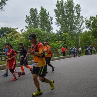 2018 追月夜野赛   Salomon城市越野跑南京站「陆月」