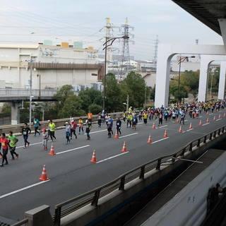2017年大阪马拉松赛事官方照片(图片均来自官方脸书)