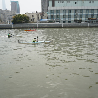 2016 中国上海苏州河国际皮划艇马拉松赛