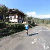 2018不丹马拉松赛事照片(图片均来自官方脸书)