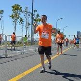 2016年哈尔滨马拉松赛跑