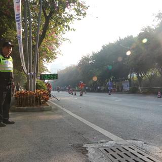 2017容桂马拉松(20公里处)