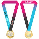 2018年新加坡尚道马拉松奖牌及完赛服装展示(图片来自官方脸书)